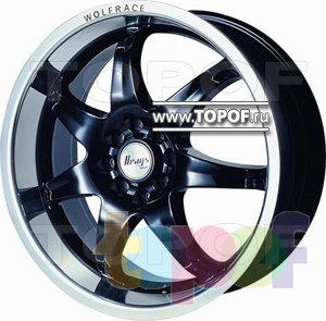 Колесные диски BTS A357. Изображение модели #1