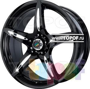 Колесные диски Cam Alu Chrome 262 AC2. Изображение модели #1