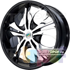 Колесные диски Cam Alu Chrome 302 AC2. Изображение модели #1