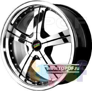 Колесные диски Cam Alu Chrome 316 AC2P. Изображение модели #1