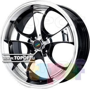 Колесные диски Cam Alu Chrome 317 AC2P. Изображение модели #1