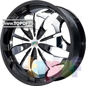 Колесные диски Cam Alu Chrome 327 AC2. Изображение модели #1
