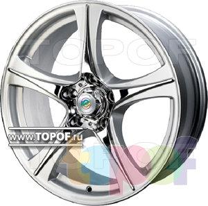 Колесные диски Cam Alu Chrome 329 AC2. Изображение модели #2