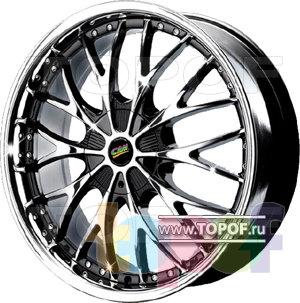Колесные диски Cam Alu Chrome 344 AC2P. Изображение модели #1