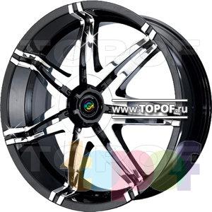 Колесные диски Cam Alu Chrome 382 AC2. Изображение модели #1