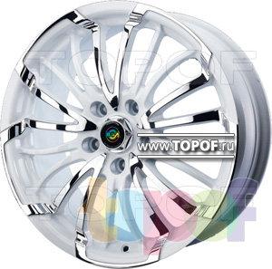 Колесные диски Cam Alu Chrome 392 AC2. Изображение модели #1