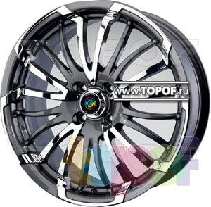 Колесные диски Cam Alu Chrome 392 AC2. Изображение модели #2