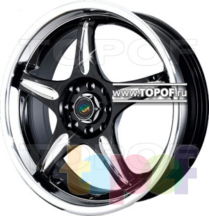 Колесные диски Cam Alu Chrome 398 AC2. Изображение модели #1