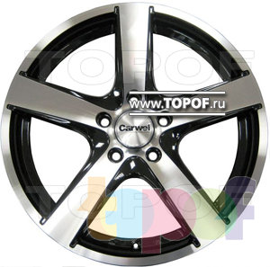Колесные диски Carwel 507. Изображение модели #1
