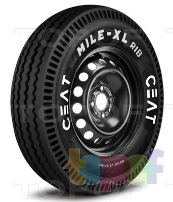 Шины Ceat Mile XL Rib. Изображение модели #1