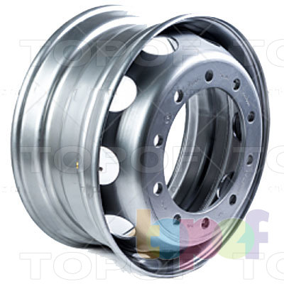 Колесные диски ЧКПЗ 167.521-3101012-15П. Изображение модели #2