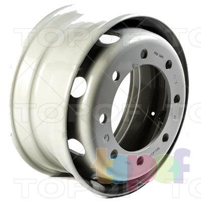 Колесные диски ЧКПЗ 505-3101012ПП. Основной вид