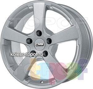 Колесные диски CMS C4. Изображение модели #1
