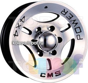 Колесные диски CMS Concordia. Изображение модели #1