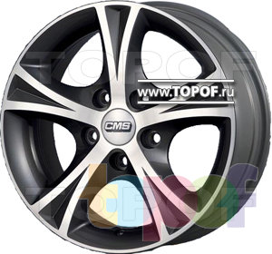 Колесные диски CMS T10. Изображение модели #1