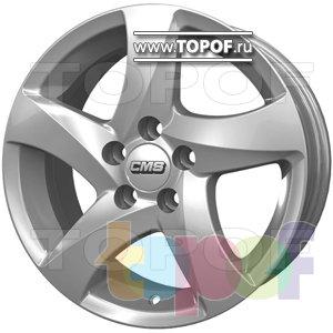 Колесные диски CMS T14. Изображение модели #1
