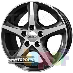 Колесные диски CMS T15. Изображение модели #1