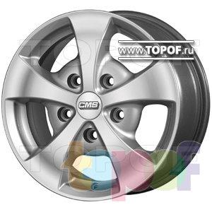 Колесные диски CMS TV1. Изображение модели #1