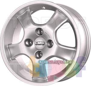 Колесные диски CMS Zeus. Изображение модели #1