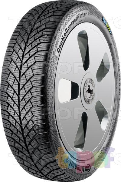 Шины Continental Conti.eContact Winter. Зимняя нешипуемая шина для легкового автомобиля