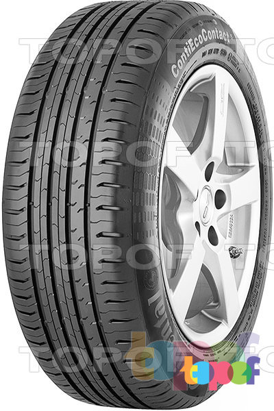 Шины Continental ContiEcoContact 5 165/70R14 XL 85T