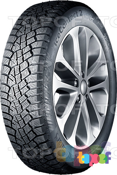 Шины Continental ContiIceContact 2 (+SUV) 175/65R14 XL 86T