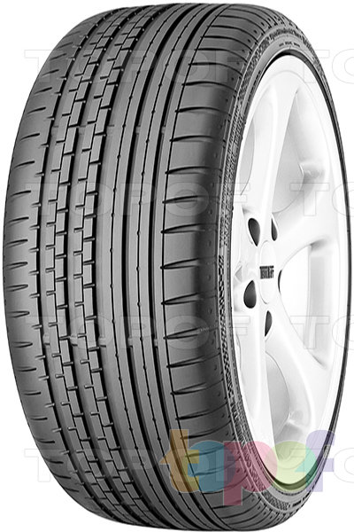 Шины Continental ContiSportContact 2 Vmax. Спортивные шины для легкового автомобиля