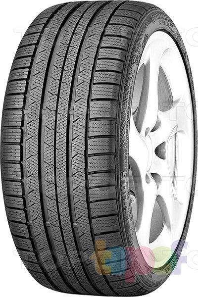 Шины Continental ContiWinterContact TS 810 S. Нешипуемая шина для внедорожника с 5-ью продольными канавками