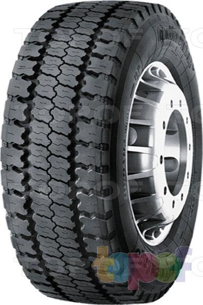 Шины Continental HD70. Универсальная шина для грузового автомобиля