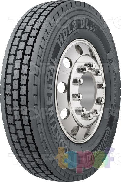 Шины Continental HDL2 DL Eco Plus. Грузовая шина для ведущей оси