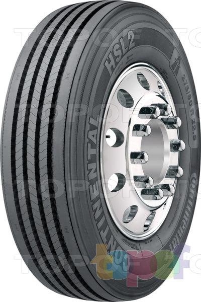 Шины Continental HSL2. Дорожная шина для грузового автомобиля