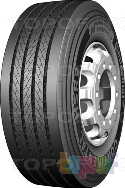 Шины Continental HSR2. Универсальная шина для грузовой оси