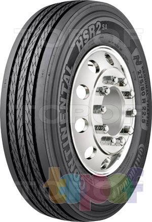 Шины Continental HSR2 SA. Дорожная шина для грузового автомобиля