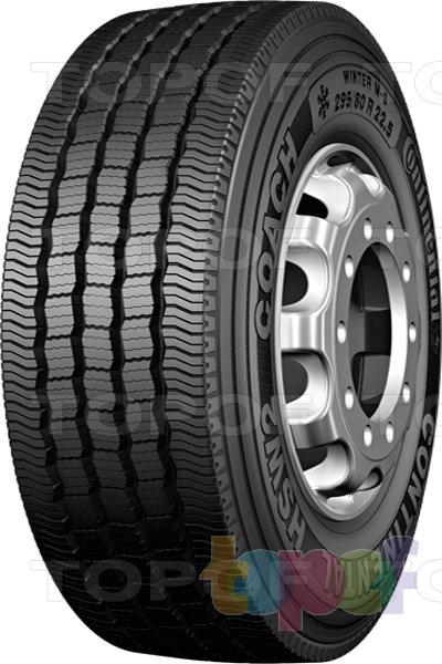Шины Continental HSW2 Coach. Нешипуемая шина для грузового автомобиля