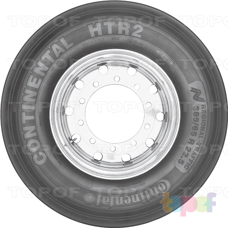 Шины Continental HTR2. Изображение модели #5