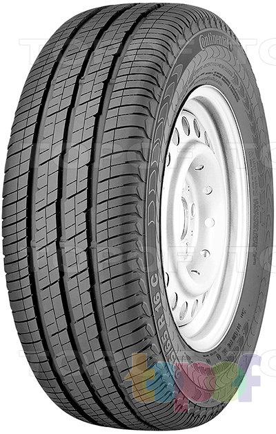 Шины Continental Vanco 2. Дорожная легкогрузовая шина
