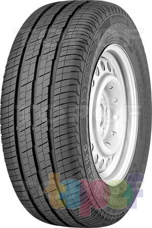 Шины Continental Vanco 8. Дорожная шина для легкогрузового автомобиля
