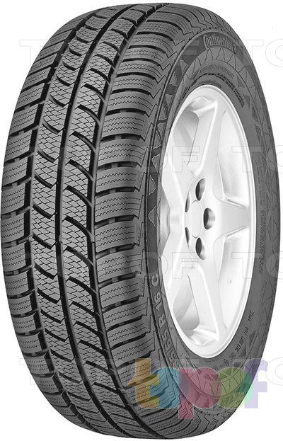 Шины Continental VancoWinter 2. Зимняя нешипуемая шина для легкового автомобиля
