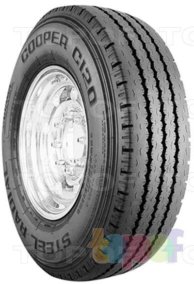 Шины Cooper C120 Steel Radial. Дорожная шина для грузового автомобиля