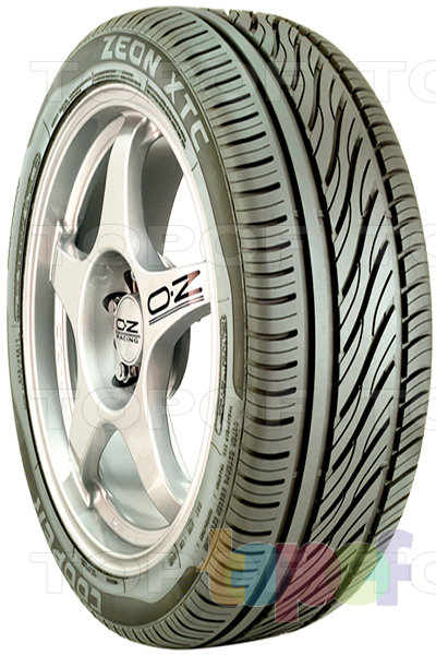 Шины Cooper Zeon XTC. Дорожная шина для легкового автомобиля