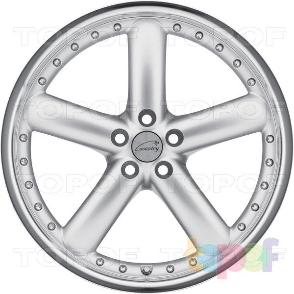 Колесные диски Coventry Hornet. Хромированный