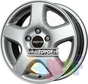 Колесные диски Crista Элит. Изображение модели #1