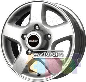 Колесные диски Crista Элит SPG. Изображение модели #1