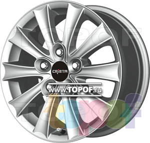 Колесные диски Crista Гефест. Изображение модели #1