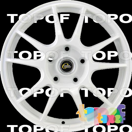 Колесные диски Cross Street CR07. Цвет White