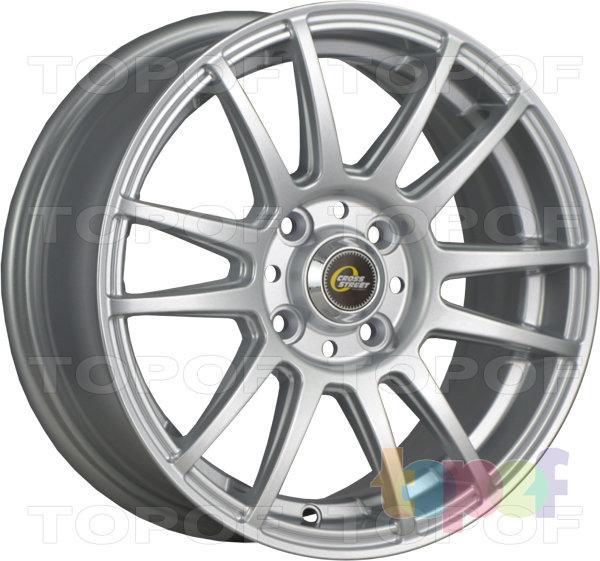 Колесные диски Cross Street Y4917. Цвет Silver