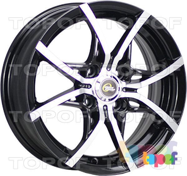 Колесные диски Cross Street Y5314. Цвет BKF