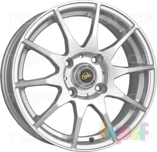 Колесные диски Cross Street Y737. Цвет Silver