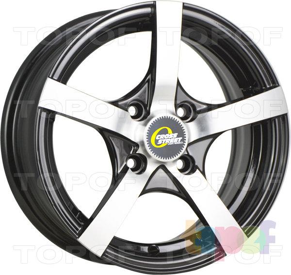 Колесные диски Cross Street Y806. Цвет BKF