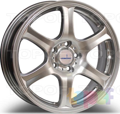 Колесные диски Devino DV 372. Цвет: серебряный